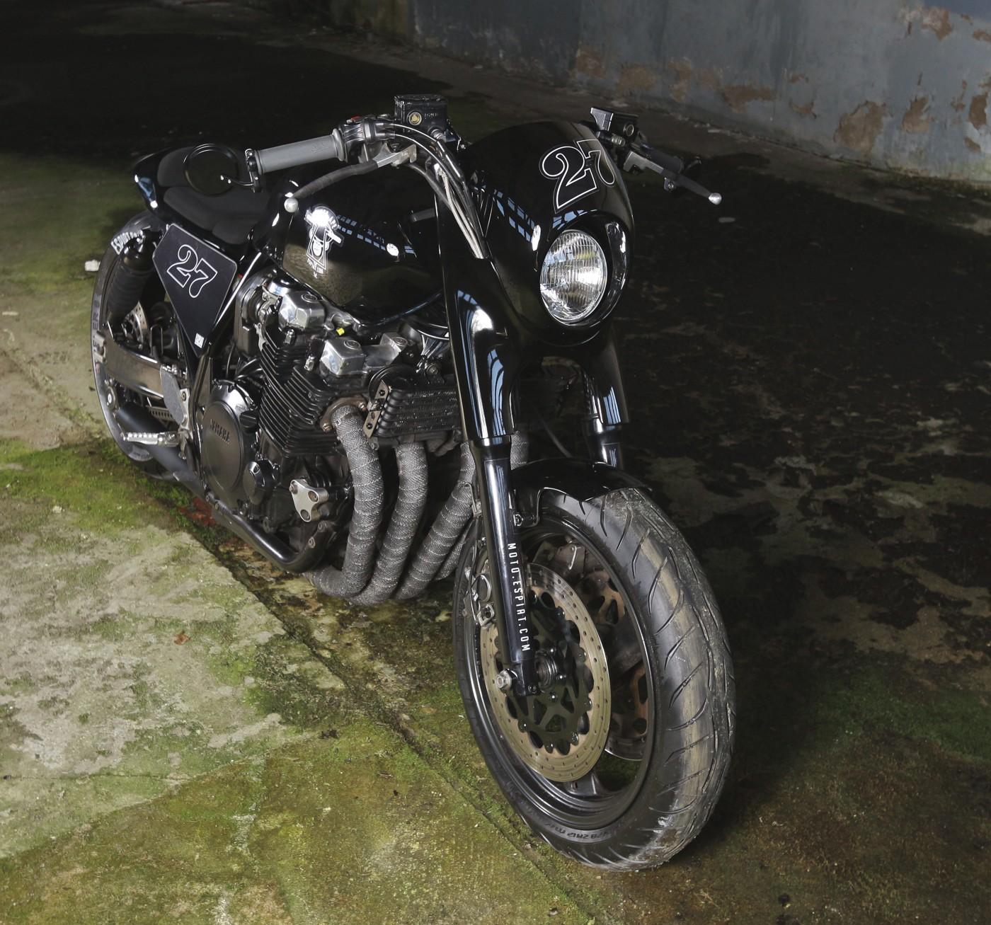 xjr custom bike
